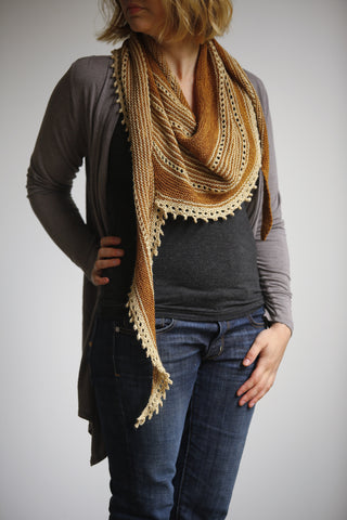 Pay It Forward Scarf Knit Pattern