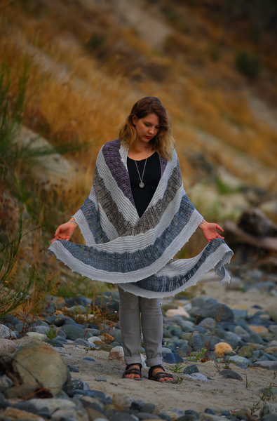 Bean Nighe Shawl Knit Pattern