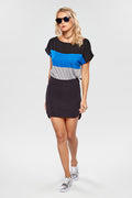 Blusa Color Block - Modisch