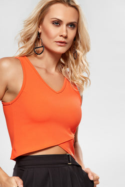 Blusa Cropped - Modisch
