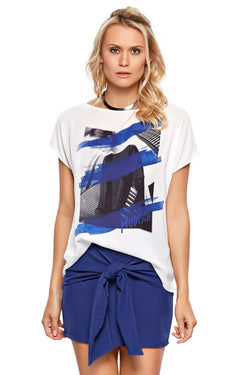 T-Shirt Silk Woman - Modisch