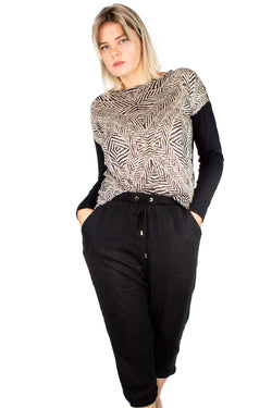 Blusa Zebra Animal Print - Modisch