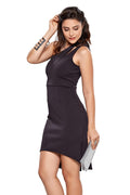 Vestido Neoprene One Shoulder - Modisch