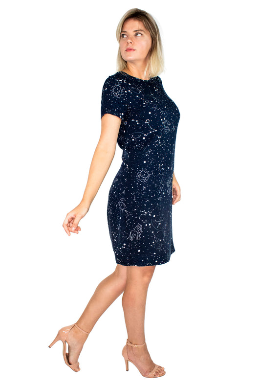 Vestido T-Shirt Dress Galaxy - Modisch