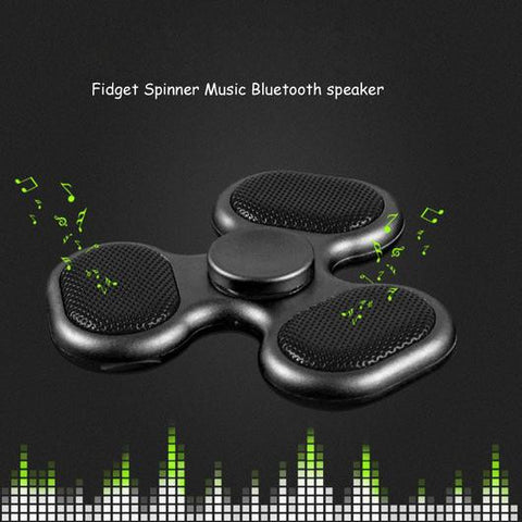 bluetooth speaker fidget spinner