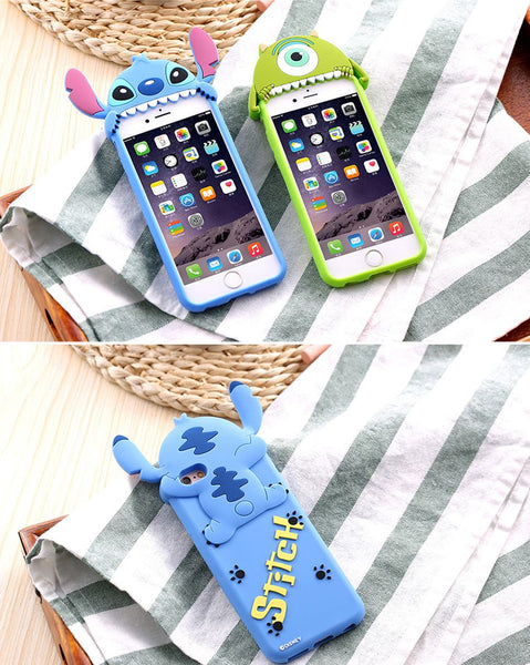 3D STITCH & MIKE CASE - iPhone, , Wazalan, Wazalan