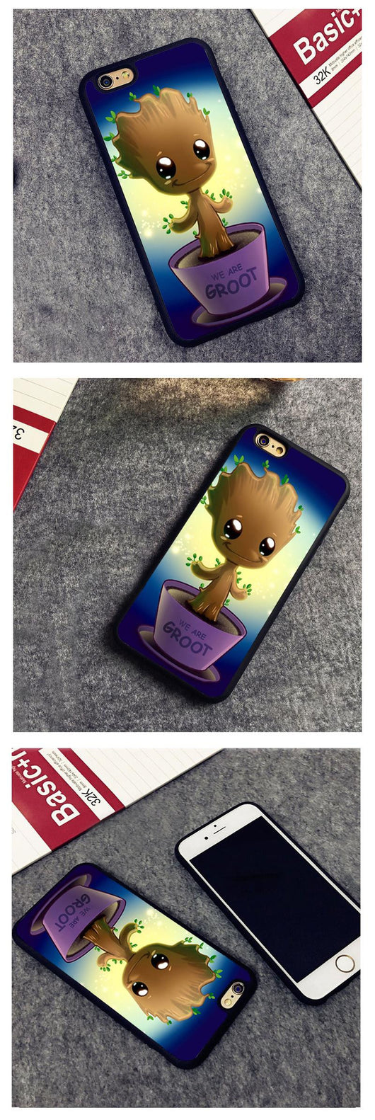 Groot Guardians Of The Galaxy - iPhone Case, , Wazalan, Wazalan