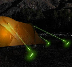 Glow in the Dark Camping Rope