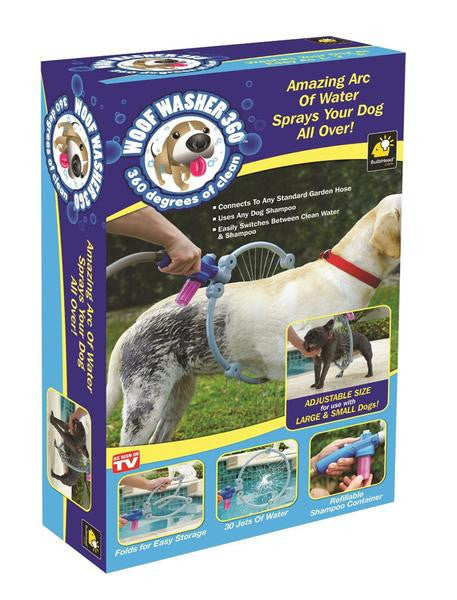 Woof Washer - 360 Degree Shower Tool For Dogs, , PetFut, Wazalan