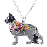 German Shepherd Dog Necklace, Dog Collar, Brisk Buddha , PetFut