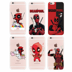 Dealpool Cartoon - Phone Case, , Wazalan, Wazalan