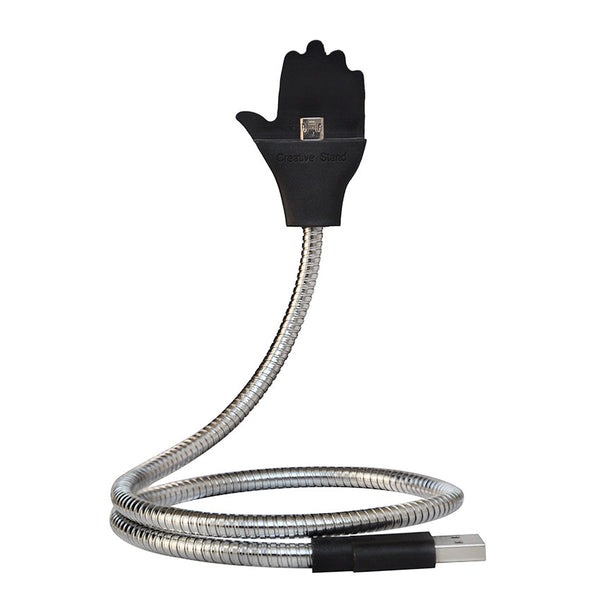 Flexible USB Stand Up Charging Cable For iPhone & Android, , Wazalan, Wazalan