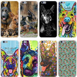 German Shepherd iPhone Case, dog phone case, Brisk Buddha , Wazalan
