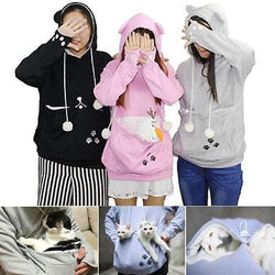 New Sweatshirt Hoodies For Pet Holders - Cats & Small Dogs, pet hoodie, PetFut, Wazalan