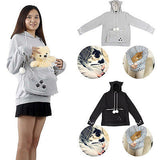 New Sweatshirt Hoodies For Pet Holders - Cats & Small Dogs