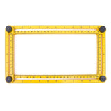 Metric Scale - A Multi-functional Measuring Angle Ruler