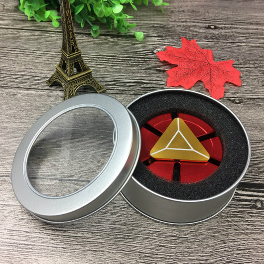 Avengers Captain American Iron Man EDC  Fidget Hand Spinner Top For Adults Children Finger Spiner Collection Toys As Gift