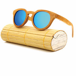 Miele - Bamboo Retro Polarized Sunglasses, Sunglasses, Cheap & Trendy Inc, PetFut