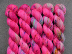 Qing Fibre Sock 50g - Flamingo