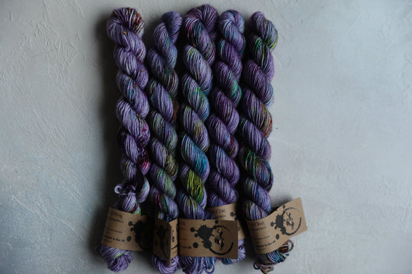 Qing Fibre Merino Single MINIS - Cuttlefish