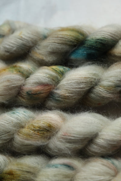 Qing Fibre Kid Mohair Silk - Cactus NEW COLOUR