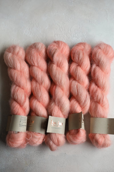 Qing Fibre Kid Mohair Silk - Peachy