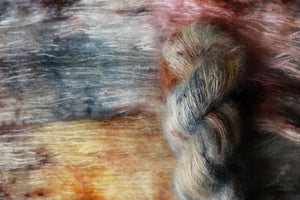 Qing Fibre Kid Mohair Silk - Salt Marsh