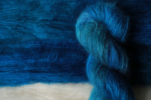 Qing Fibre Kid Mohair Silk - Deep Sea