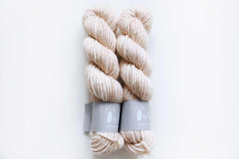 Big Merino Chunky - Cream