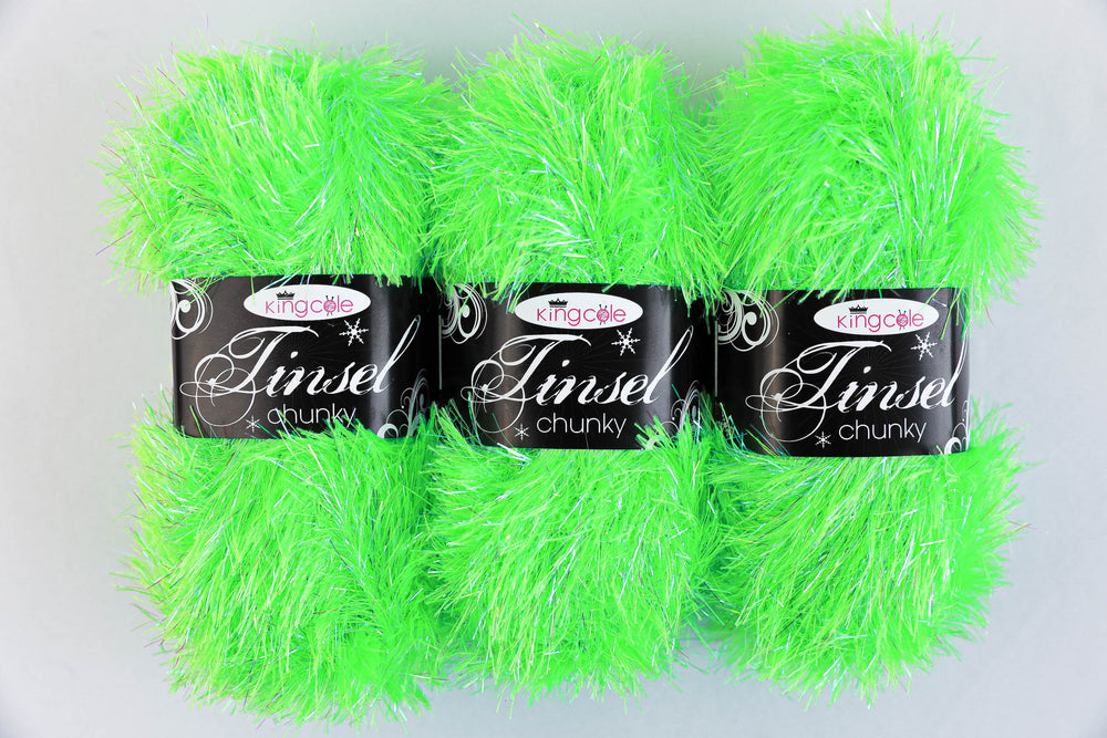 King Cole Tinsel yarn