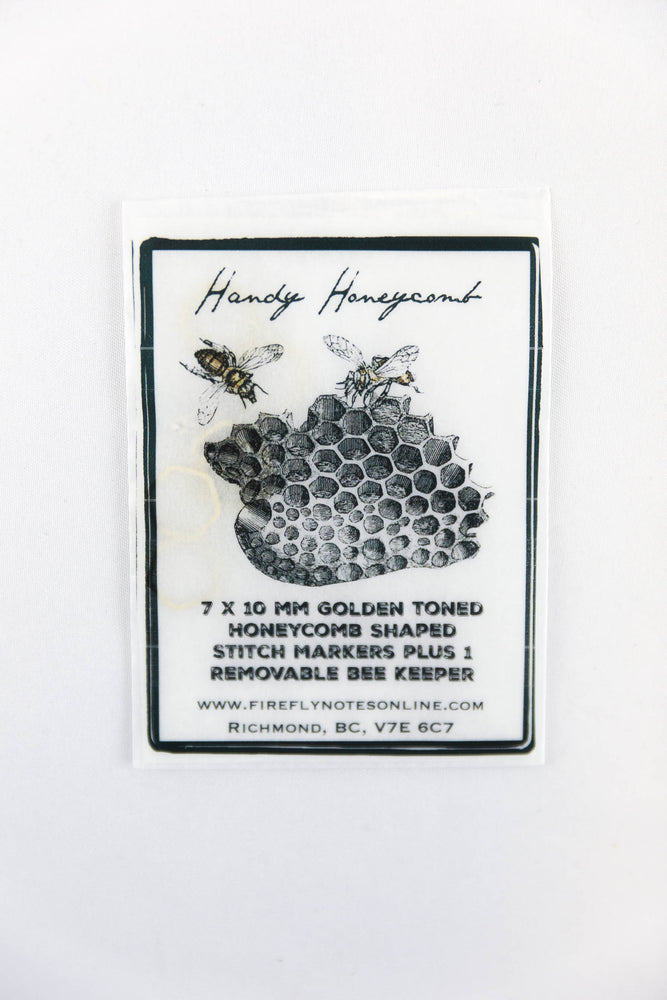 Handy Honeycomb Stitch Markers by Firefly Notes