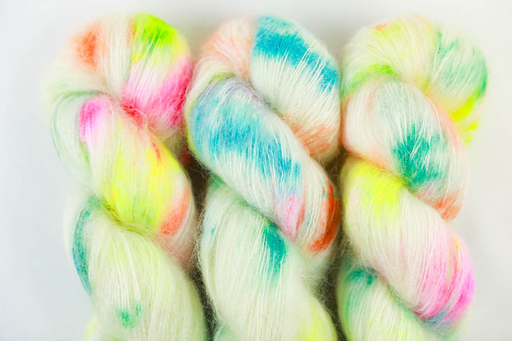Kid Mohair Silk - Birthday Cake