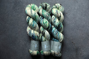 Qing Fibre Sock- Northern Lights