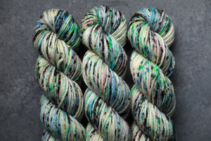 Qing Fibre Merino Aran - Northern Lights