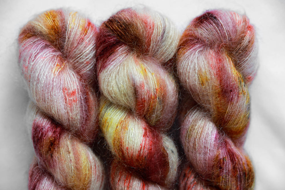 Kid Mohair Silk - Sunflower Maze