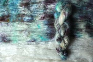 Qing Fibre Kid Mohair Silk - Northern Lights