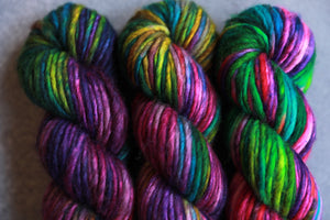Qing Fibre Big Merino Chunky- Elderwood