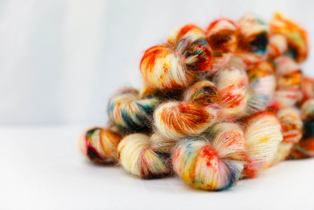 Kid Mohair Silk - Candy Cane