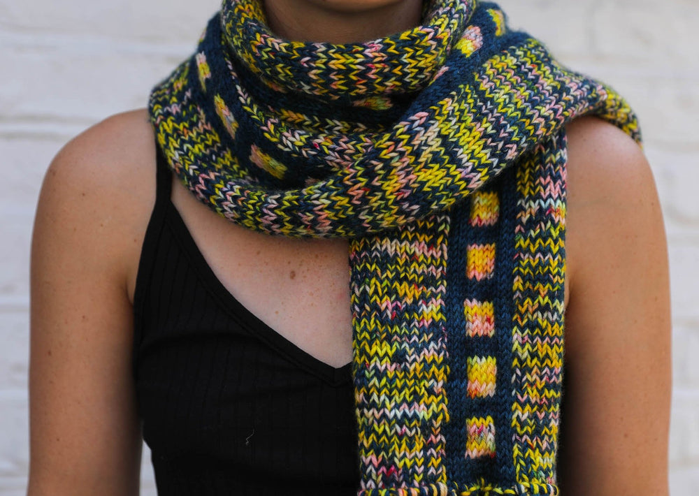 Farled Fascination Scarf