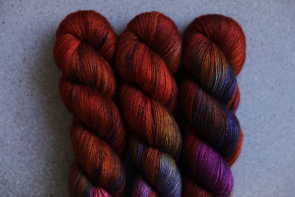 Qing Fibre Yak Single 100g - Nebula