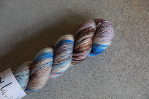 Qing Fibre Merino Single - Dirt