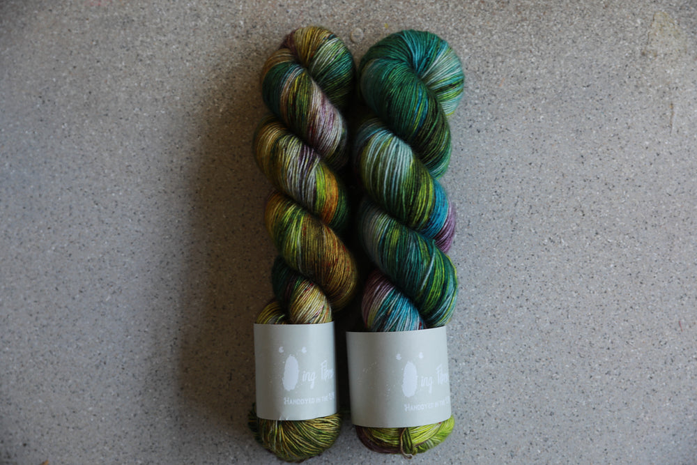 Qing Fibre Merino Single - Ophelia