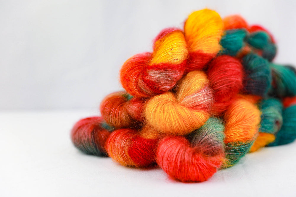 Kid Mohair Silk - Ginger Bread