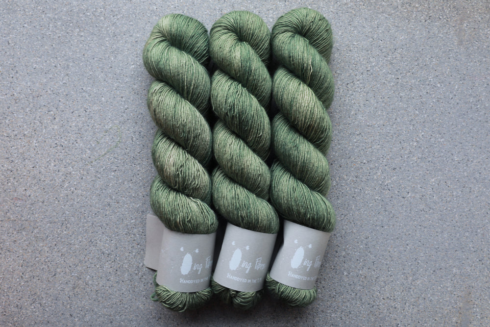 Qing Fibre Merino Single - Sage