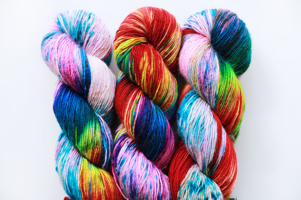 Merino Single - Mardi Gras