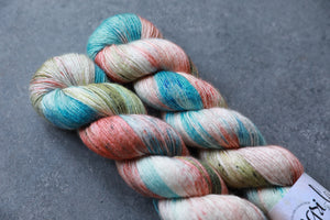 Qing Fibre Silky Merino Single: Shell Beach
