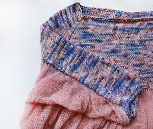 Kýma Sweater Kit - Cornflower