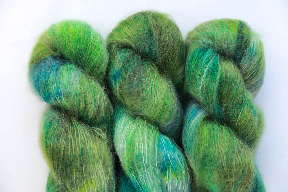 Kid Mohair Silk - Juniper