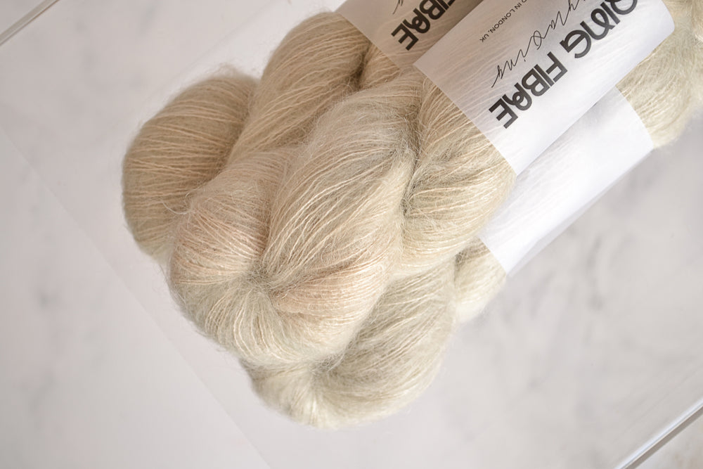 Kid Mohair Silk - Porcelain
