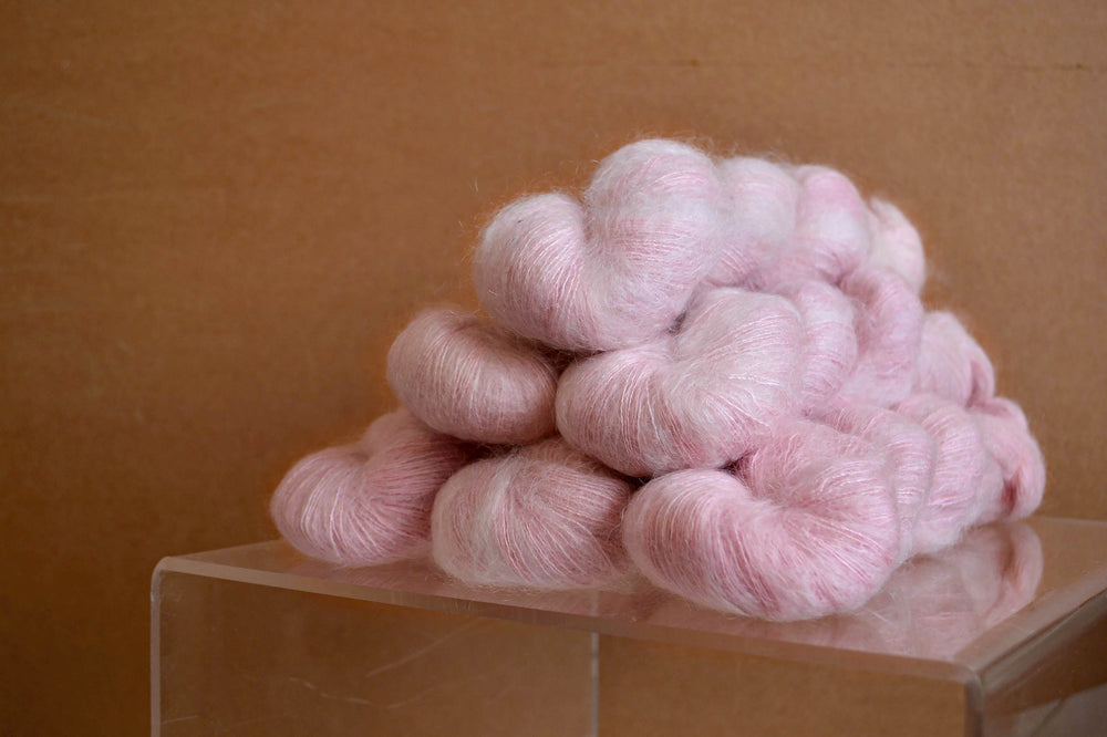 Kid Mohair Silk - Strawberry